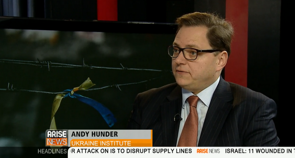 Andy Hunder Arise News 21 Jan 2015