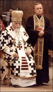 Patriarch Slipyj and Fr Iwan Dacko